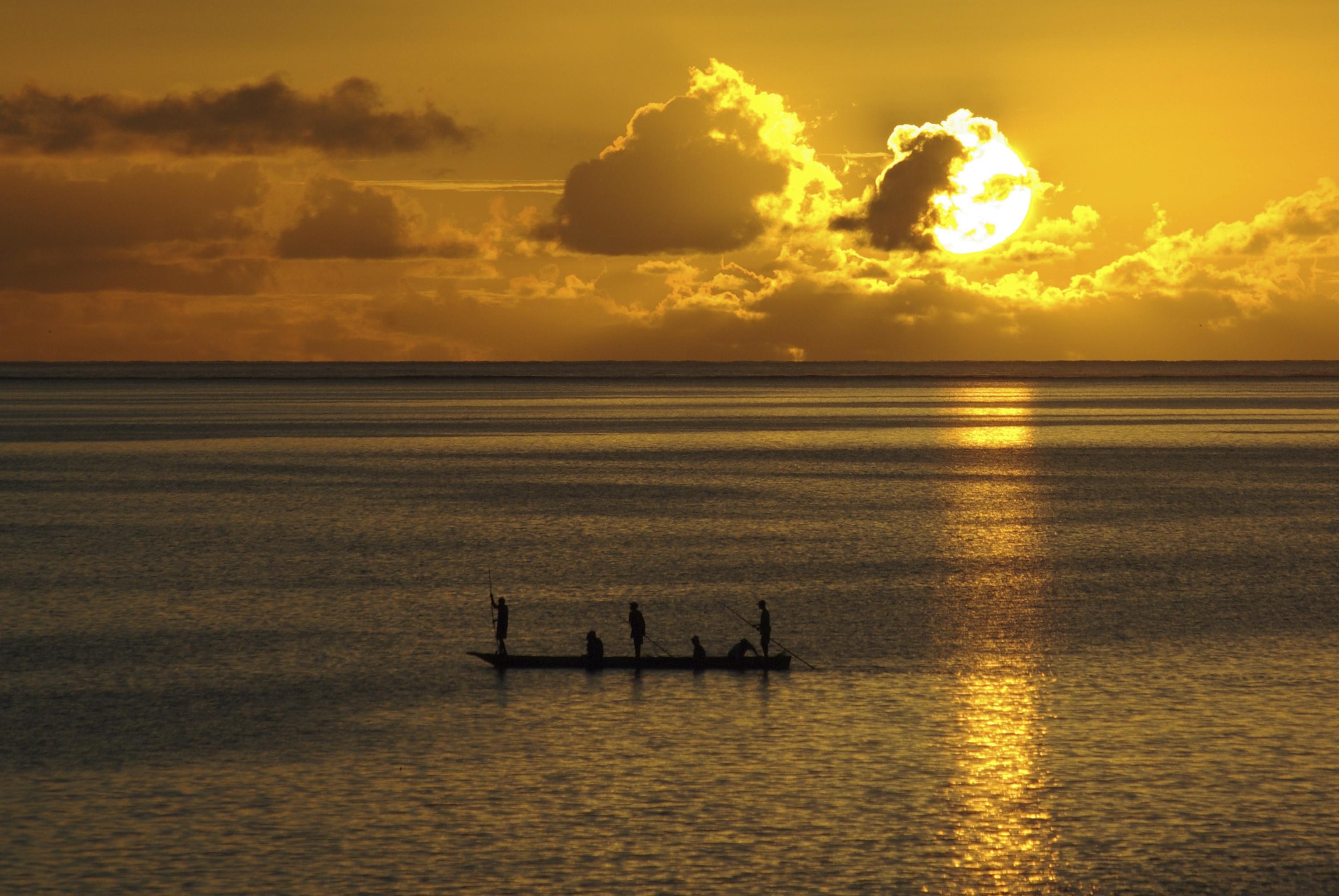 Blue Oyster Hotel Zanzibar - sunset