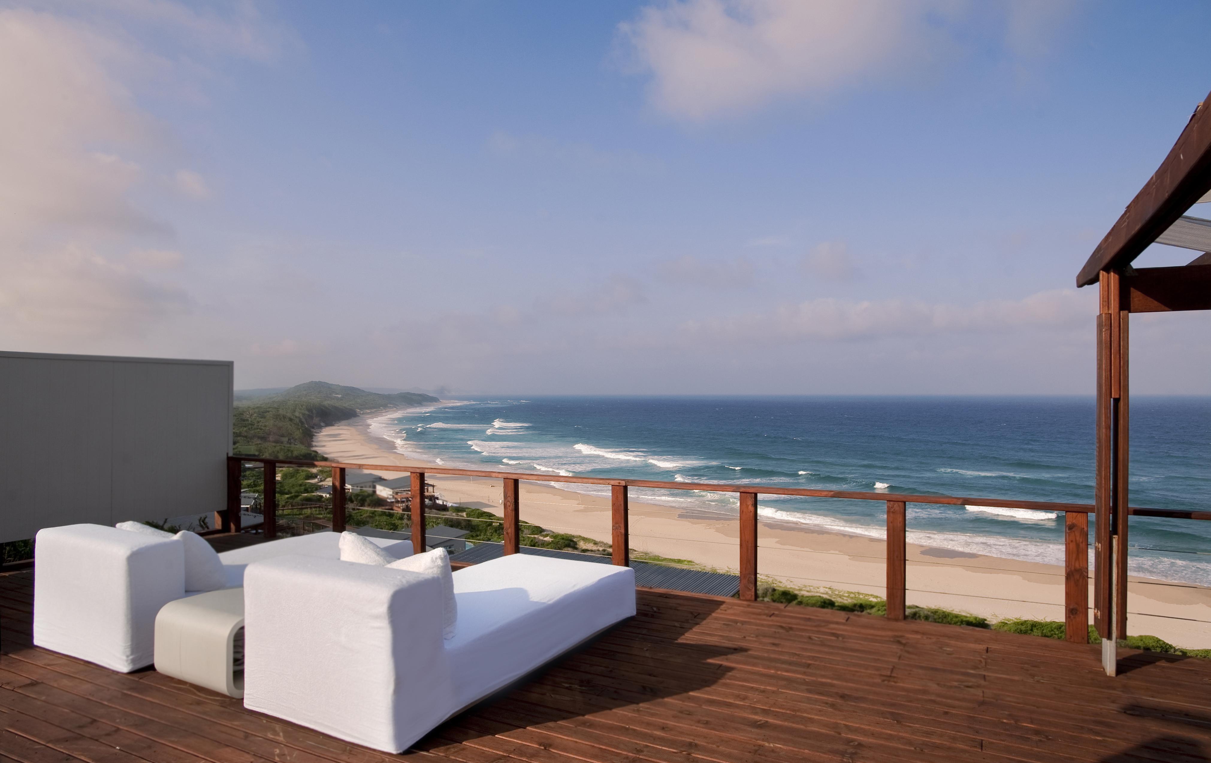 Terrasse am Meer White Pearl Mosambik